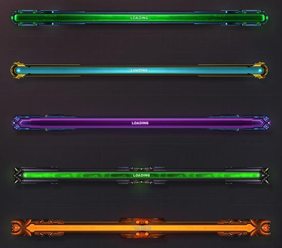 Các loại loading bar
