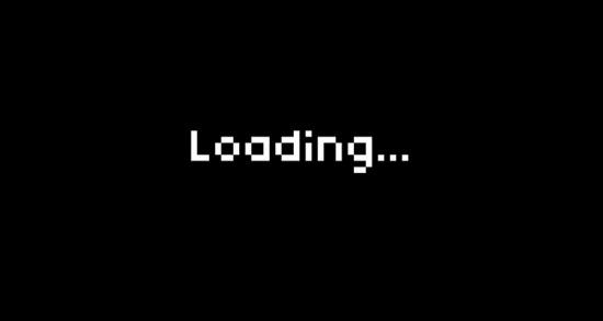 Màn hình loading 8bit