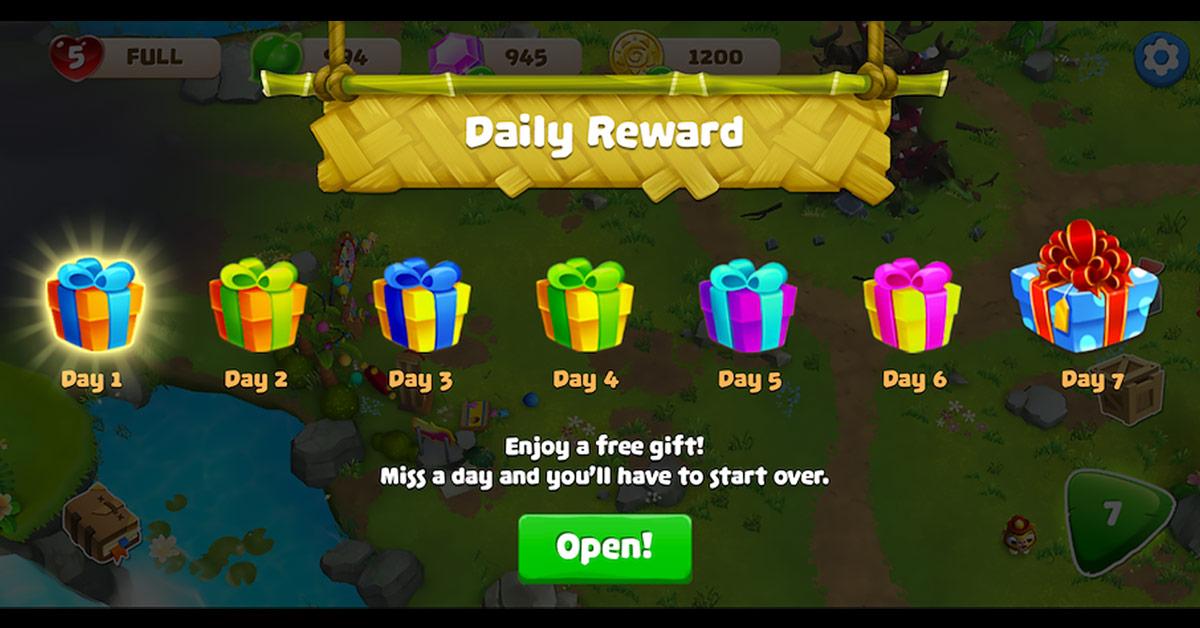 Thiết kế Daily Rewards cho Game