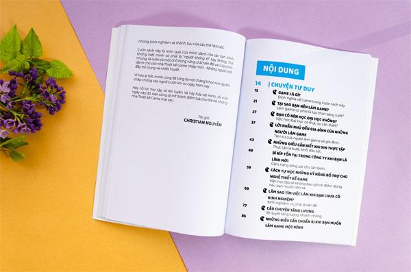 Nội dung sách chuyện thiết kế Game