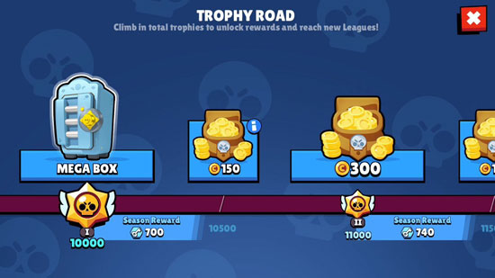 Phần thưởng cho tiến trình trong game