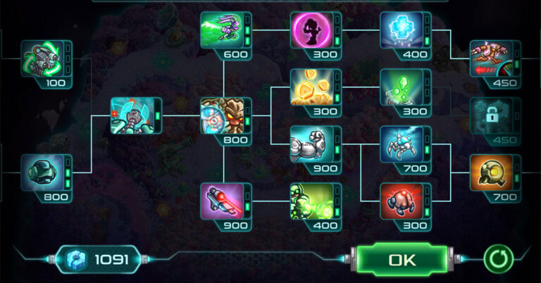Skill Tree - Xây dựng cây kỹ năng nhân vật